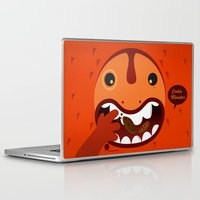 cookie monster Laptop & iPad Skins featuring Cookie Monster by Ilias Sounas