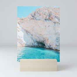 Sea Caves in Mallorca Spain Mini Art Print