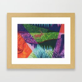 Happy Accidents Framed Art Print