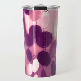 GLAM CIRCLES #Pink/Purple #1 Travel Mug