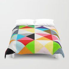 Geometric Morning Duvet Cover