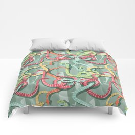 Snakes pattern 002 Comforters