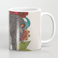 ruby Mugs featuring Ruby by Valentina Harper