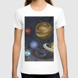 Planetary Time Spiral T-shirt