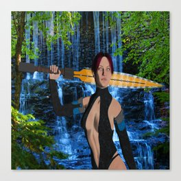 Amazonian Warrior Canvas Print