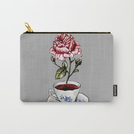 Rose Tea Carry-All Pouch