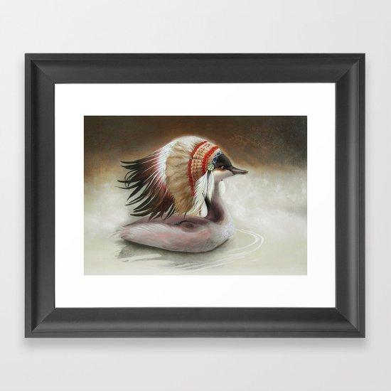 Little Duck. Framed Art Print