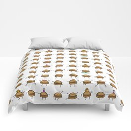 Hooray! Cheeseburgers! Comforters