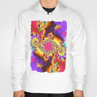 tropical Hoodies featuring Tropical  by thea walstra