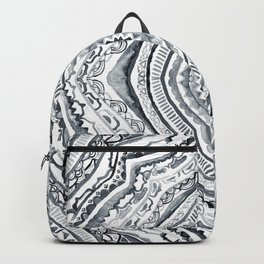 Black & White Diamond Backpack