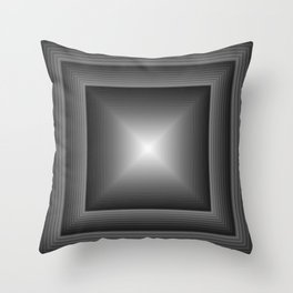 Geometric Art Squared Throw Pillow