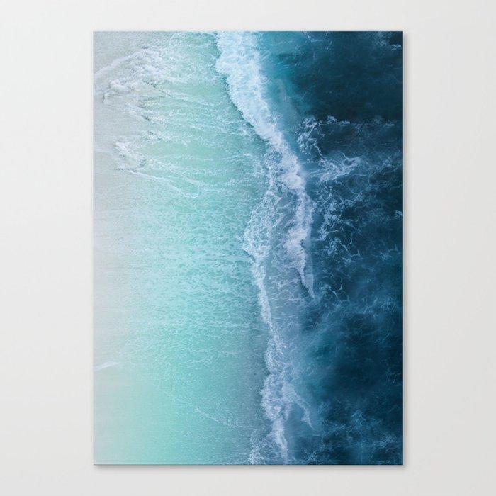 Turquoise Sea Leinwanddruck