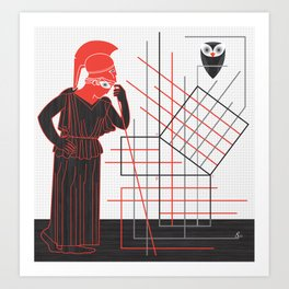 Variance Art Print