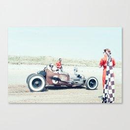 Pendine Sands 4c Canvas Print