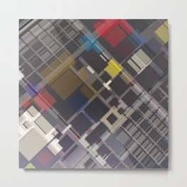 Abstract Composition 70 Metal Print
