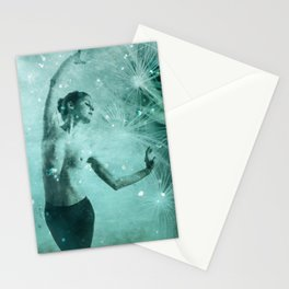 The dream dance Stationery Cards