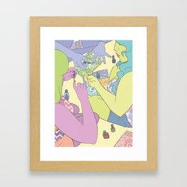 Slumber Party Framed Art Print