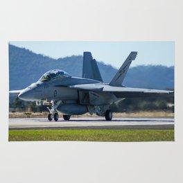 Avalon Airshow - RAAF FA-18 Hornet Rug
