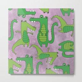 Gators  Metal Print