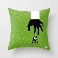 Green Dr No Throw Pillow