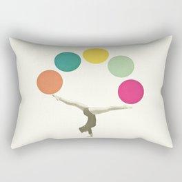 Gymnastics II Rectangular Pillow
