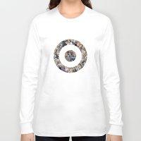 clint barton Long Sleeve T-shirts featuring clint barton hawkguy bullseye by captainkittyspa