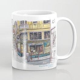 Vesuvio, San Francisco Coffee Mug
