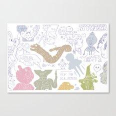 Y 2 K Canvas Print
