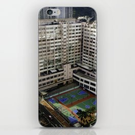 Outdoor Basketball iPhone Skin