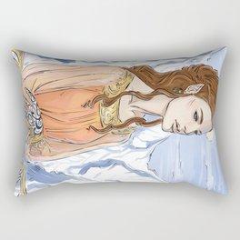 fae girl Rectangular Pillow