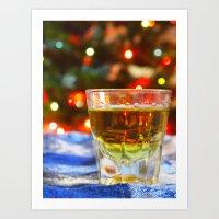Christmas Drink Art Print