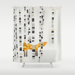 Fox Hill Lodge Shower Curtain