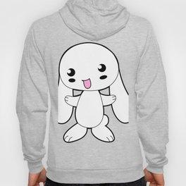 Kawaii White Rabbit Animal Hoody