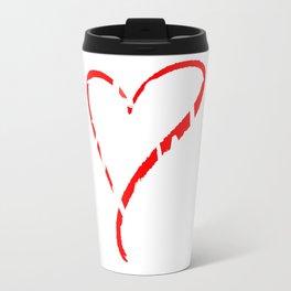 Best Mummy Ever Love Heart Mother's Day T-Shirt Travel Mug
