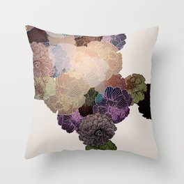 Florals // Pattern III Throw Pillow