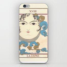 Tarot Card The Moon iPhone Skin