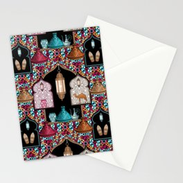 Marrakech Night Stationery Cards