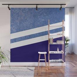 Water  Navy #society6 #decor #buyart #artprint Wall Mural