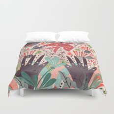 Spring Bird Duvet Cover