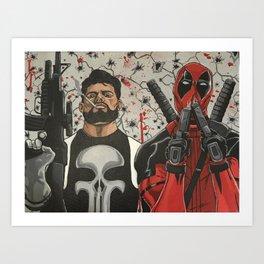 Heist Men Art Print