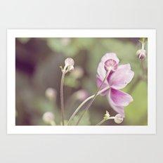I ♥ pink Art Print