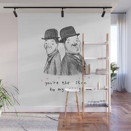 Laurel & Hardy Wall Mural