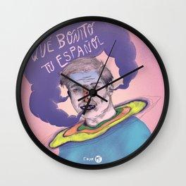 Qué bonito tu español 2015 Wall Clock