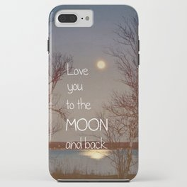 To the Moon and Back iPhone Case