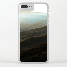 North Georgia Mountains 4 Clear iPhone Case