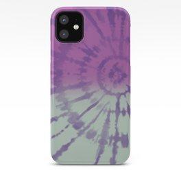 Tie Dye pattern iPhone Case