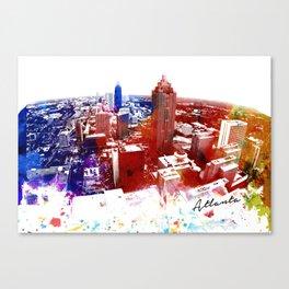 Urban Art Atlanta Canvas Print