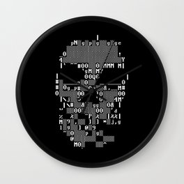 Watchdogs Digital Skull Wall Clock