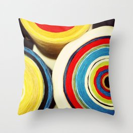 Sew Colourful Throw Pillow