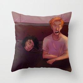 Lazy Morning Throw Pillow